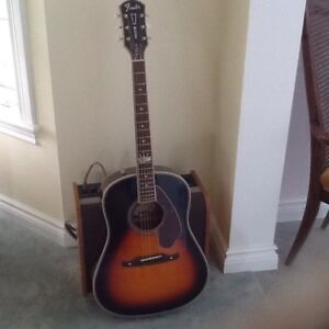 Fender Acoustic/Electric guitar, Roy Emory Special