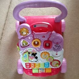 Vetch musical baby walker in excellent condition