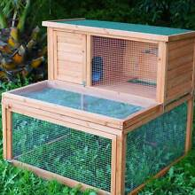 Double Storey Rabbit / Guinea Pig Hutch with Detachable Run Osborne Port Adelaide Area Preview