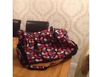 Reduced - Multi coloured Holdall