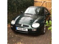 Mgf with hard top, full mot, drives superbly, 5 speed manual. Good alloys and tyres.