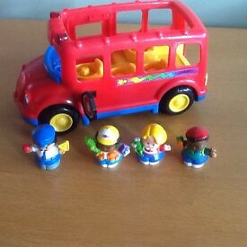 Fisher Price Little People Sounds Bus