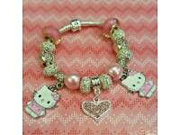 Genuine hello kitty pandora bracelet