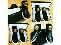 Leather Versace Sneakers Size 7 Brand New