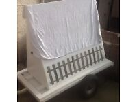 FOR SALE TOW AWAY ADVERTISING. TRAILER £170 great for picking up work .