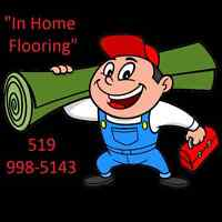 """ IN HOME FLOORING """