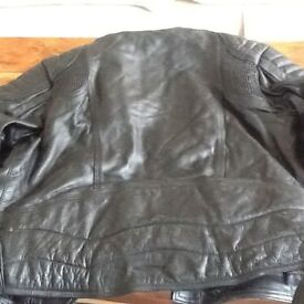 Set of motor cycle leathers