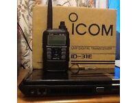 icom ID-31E uhf d-star tranciever