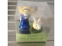 NEW Whittard of Chelsea Ceramic Novelty Salt & Pepper Set £10