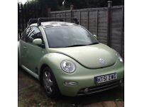 VW beetle 1.8 turbo £575