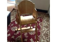 For Sale Baby High Chair