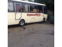 Toyota coach caravan project under 5 ton gross