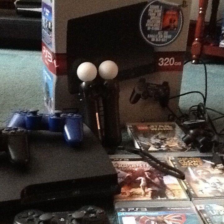 Boxed PS3 bundle