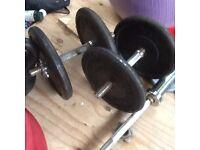 Cast Iron Dumbell set 2x 20kg