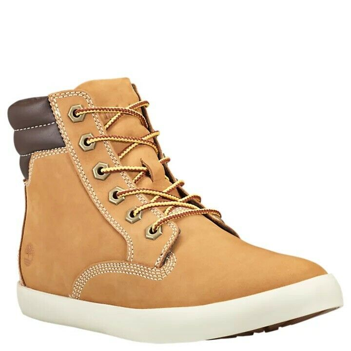 Timberland Womens Dausette Lightweight Hightop Wheat Sneaker Boot Style A1KLZ