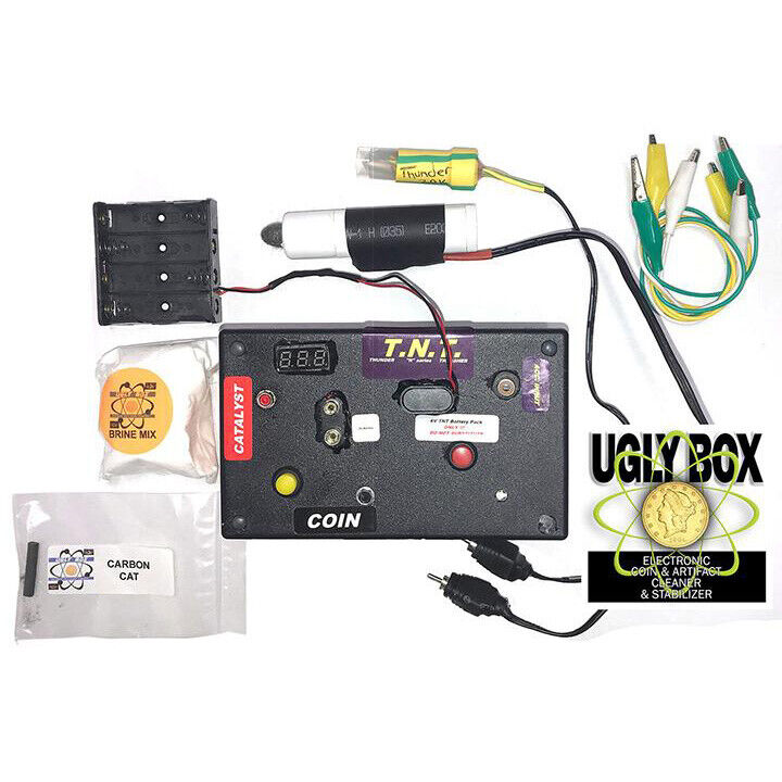 Ugly Box Electrolysis Unit - Coin and Relic Cleaner + Stabilizer