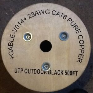 CAT6 direct burial wire.