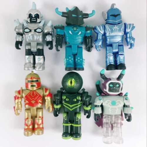 The Tt Testing Roblox Random Lot 6pcs Roblox Champions Of Roblox Game Figures Set Roblox Toys