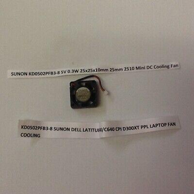 LAPTOP PART:Dell Latitude//Inspiron 540,C600,C610,C640 Case Fan Processor CPU Fan