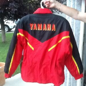 New skidoo jacket and pants,used Yamaha ladies and men's 2 PC