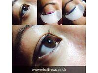 Eyelash Lift & Tint LVL £30
