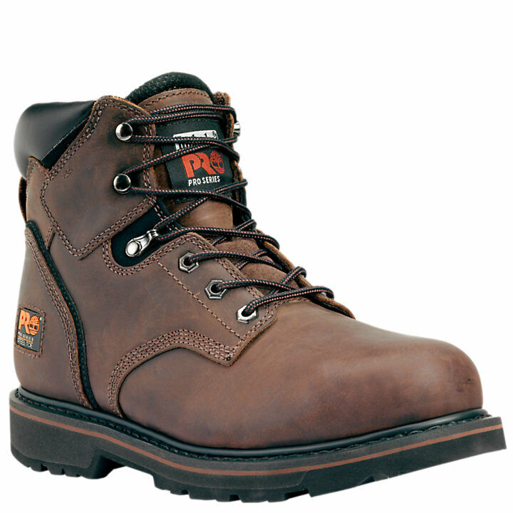 Timberland Pro Pit Boss Steel Toe Lace up safety Slip Resistant work boot EH