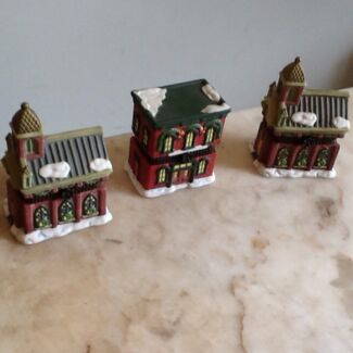 China Christmas trinket boxes