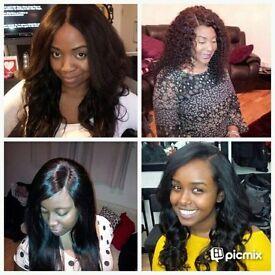 Weavespeacialist/celebrity stylist/Afro/european /Caribbean mobile hairdresser.