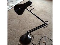Vintage articulated desk light