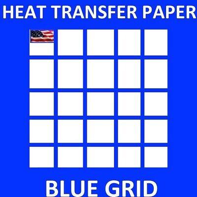 1 Heat Transfer Paper Iron On Dark T Shirt Inkjet Paper 50 Sh 8.5x11 Usa