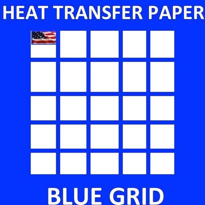 "#1 HEAT TRANSFER PAPER  IRON ON DARK T SHIRT INKJET PAPER 50 Sh 8.5""x11"" USA"