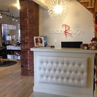 Salon Rouge is looking for a FULL OR PART TIME master stylist