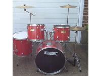 Cannon Adder Annon drum kit (Rock kit size)