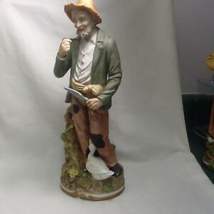 Ceramic figurines Old Couple gardeners/farmers Cambridge Kitchener Area image 5
