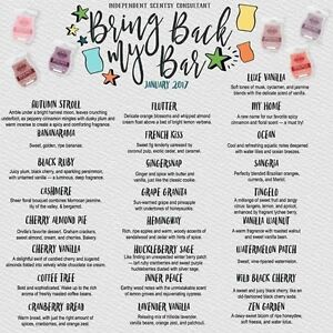 Scentsy Bring Back My Bar is Back!!