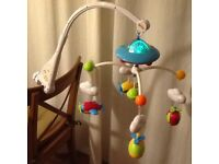 Nuby Baby's musical mobile with range of tunes and gentle lighting
