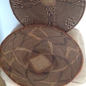 2 Large bread baskets
