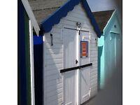 Beach Hut, Felixstowe for sale.