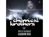 Standing Chemical Brothers Ticket Glasgow SECC Arena FOR SALE