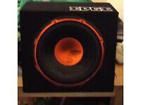 Edge street car amp speaker