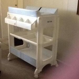 Baby change table with bath Bongaree Caboolture Area Preview