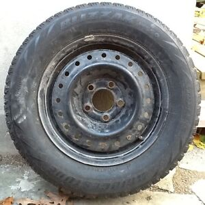 205 65 15 ** 4  Snow tires on rims