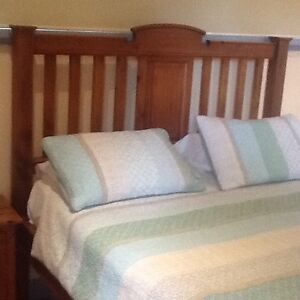Timber framed queen, colonial style bed Sandringham Bayside Area Preview