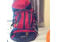BACKPACK. Samoa Ultra 75L with mosquito net and sleeping bag liner
