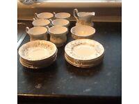 Paragon bone china 20 piece tea set