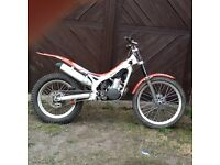 Beta rev trials bike 250cc 2007 model