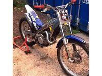 Gas Gas 125 trials
