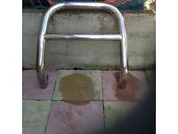 Shogun bull bars 2000-2008 not sport, including brackets ,original parts, heave 7 cm in diameter