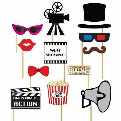 Film Kostüme Requisiten (12 X At The Movies Film Nacht Kino Fotokabine Aktion Requisiten Oscar Kostüm)