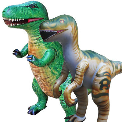 Inflatable Tyrannosaurus T-Rex Raptor Dinosaur Jurassic Park Toy Party Gift Kids](Dinosaur Costumes Kids)